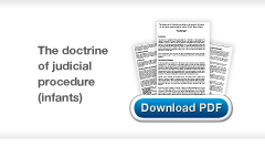Download Christopher Stone's The doctrine of judicial precedent with special reference to the cases concerning seriously ill new born infants publication