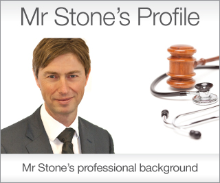 Find out more about Mr Stone's experience and profile within surgery & medico-legal