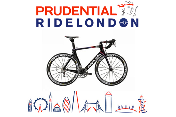 Christopher Stone taking part in Ride London 2013 for Cancer Research UK