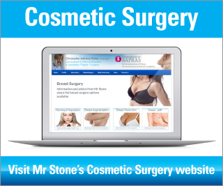 Visit the Exeter Cosmetic Surgery website by Mr Chris Stone, Consultant Plastic Aesthetic surgeon specialising in surgery of the breast augmentation, reduction, mastopexy & trunk, abdominoplasty and liposuction