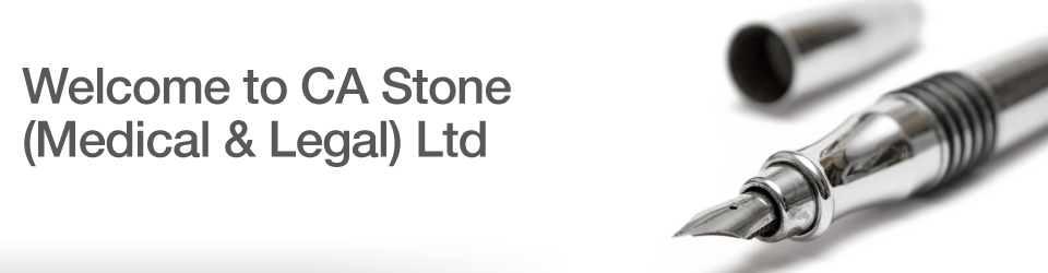 Chris Stone Surgeon - Medical & Legal welcome to our site